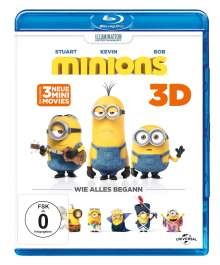 Minions (3D & 2D Blu-ray), 2 Blu-ray Discs