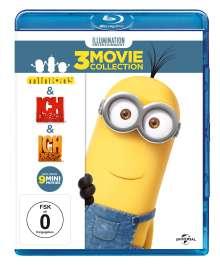 Minions Box (Blu-ray), 3 Blu-ray Discs