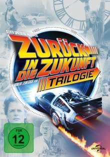 Zurück in die Zukunft I-III (30th Anniversary Edition), 4 DVDs