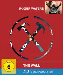 Roger Waters: The Wall (Limited Special Edition), 2 Blu-ray Discs