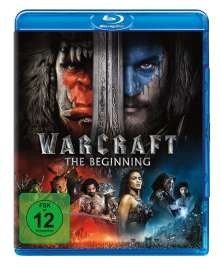 Warcraft: The Beginning (Blu-ray), Blu-ray Disc