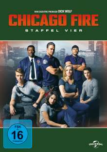Chicago Fire Staffel 4, 6 DVDs