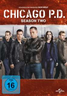 Chicago P. D. Staffel 2, 6 DVDs