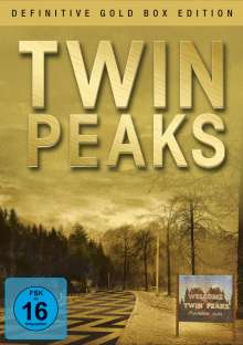 Twin Peaks Season 1 & 2 (Definitive Gold Edition), 10 DVDs