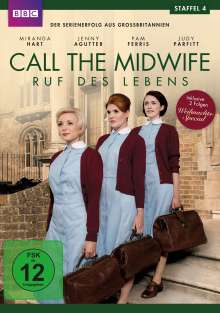 Call The Midwife Staffel 4, 3 DVDs