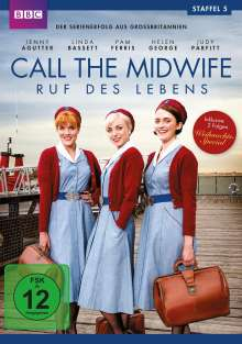 Call The Midwife Staffel 5, 3 DVDs