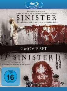 Sinister 1 & 2 (Blu-ray), 2 Blu-ray Discs