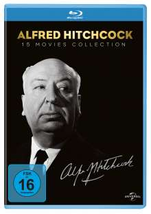 Alfred Hitchcock Collection (Blu-ray), 15 Blu-ray Discs