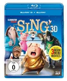Sing (3D & 2D Blu-ray), 2 Blu-ray Discs