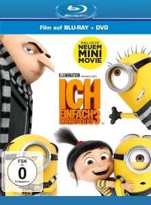 Ich - Einfach unverbesserlich 3 (Blu-ray & DVD), 1 Blu-ray Disc und 1 DVD