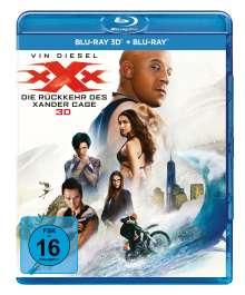 xXx 3 - Die Rückkehr des Xander Cage (3D & 2D Blu-ray), 2 Blu-ray Discs