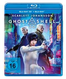 Ghost in the Shell (2017) (3D & 2D Blu-ray), 2 Blu-ray Discs