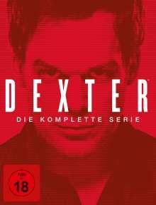 Dexter (Komplette Serie), 35 DVDs