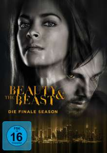 Beauty and the Beast Season 4 (finale Staffel), 4 DVDs