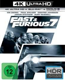 Fast & Furious 7 (Ultra HD Blu-ray & Blu-ray), 1 Ultra HD Blu-ray und 1 Blu-ray Disc