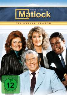 Matlock Season 3, 5 DVDs