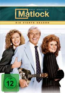 Matlock Season 4, 6 DVDs