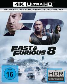 Fast & Furious 8 (Ultra HD Blu-ray & Blu-ray), 1 Ultra HD Blu-ray und 1 Blu-ray Disc