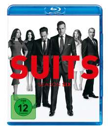 Suits Season 6 (Blu-ray), 4 Blu-ray Discs