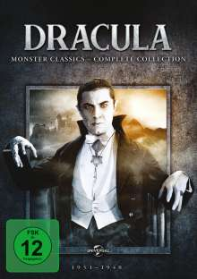 Dracula: Monster Classics (Complete Collection), 5 DVDs