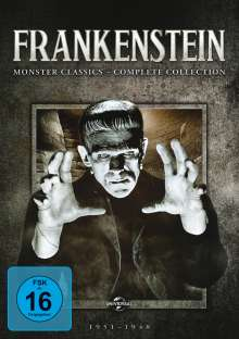 Frankenstein: Monster Classics (Complete Collection), 6 DVDs