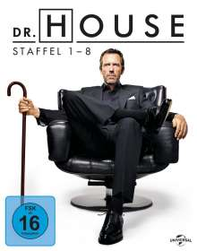 Dr. House (Komplette Serie) (Blu-ray), 39 Blu-ray Discs