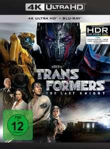 Transformers 5: The Last Knight (Ultra HD Blu-ray & Blu-ray), 1 Ultra HD Blu-ray und 2 Blu-ray Discs