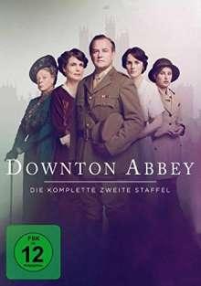 Downton Abbey Staffel 2 (neues Artwork), 4 DVDs