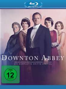 Downton Abbey Staffel 3 (neues Artwork) (Blu-ray), 3 Blu-ray Discs
