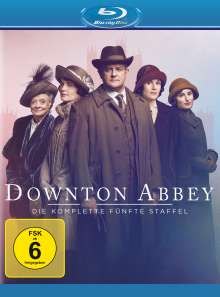 Downton Abbey Staffel 5 (neues Artwork) (Blu-ray), 3 Blu-ray Discs