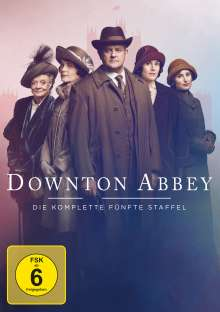 Downton Abbey Staffel 5 (neues Artwork), 4 DVDs