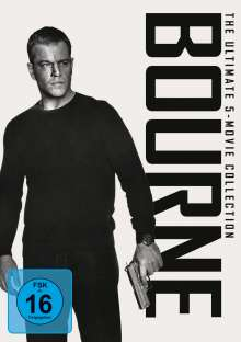 Bourne - The Ultimate 5-Movie Collection, 5 DVDs