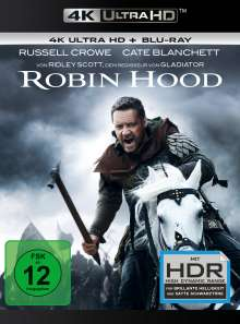 Robin Hood (Director's Cut & Kinofassung) (Ultra HD Blu-ray & Blu-ray), 1 Ultra HD Blu-ray und 1 Blu-ray Disc
