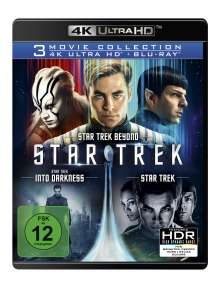 Star Trek: Three Movie Collection (Ultra HD Blu-ray & Blu-ray), 3 Ultra HD Blu-rays und 3 Blu-ray Discs