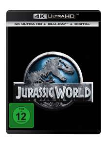 Jurassic World (Ultra HD Blu-ray & Blu-ray), 1 Ultra HD Blu-ray und 1 Blu-ray Disc