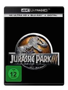 Jurassic Park 3 (Ultra HD Blu-ray & Blu-ray), 1 Ultra HD Blu-ray und 1 Blu-ray Disc