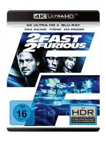 2 Fast 2 Furious (Ultra HD Blu-ray & Blu-ray), 1 Ultra HD Blu-ray und 1 Blu-ray Disc