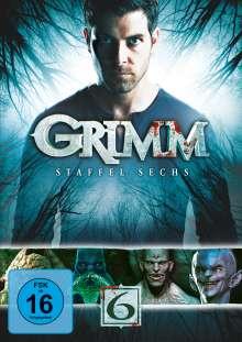 Grimm Staffel 6 (finale Staffel), 4 DVDs
