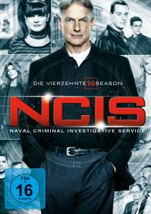 Navy CIS Season 14, 6 DVDs