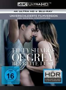 Fifty Shades of Grey 3 - Befreite Lust (Ultra HD Blu-ray & Blu-ray), 1 Ultra HD Blu-ray und 1 Blu-ray Disc