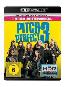 Pitch Perfect 3 (Ultra HD Blu-ray & Blu-ray), 2 Ultra HD Blu-rays