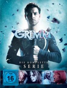 Grimm (Komplette Serie), 33 DVDs