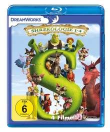 Shrekologie 1-4 (Blu-ray), 4 Blu-ray Discs
