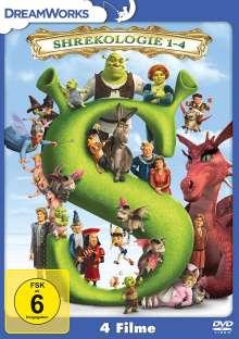 Shrekologie 1-4, 4 DVDs
