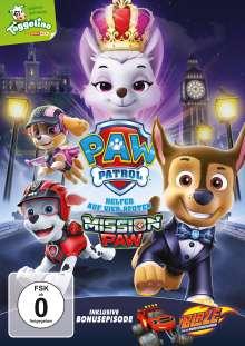 Paw Patrol: Mission Paw, DVD
