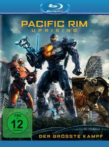 Pacific Rim: Uprising (Blu-ray), Blu-ray Disc