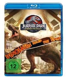 Jurassic Park 4-Movie-Collection (Blu-ray), 4 Blu-ray Discs