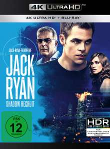 Jack Ryan: Shadow Recruit (Ultra HD Blu-ray & Blu-ray), 1 Ultra HD Blu-ray und 1 Blu-ray Disc