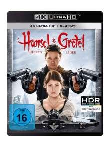 Hänsel und Gretel: Hexenjäger (4K Ultra HD Blu-ray & Blu-ray), 1 Ultra HD Blu-ray und 1 Blu-ray Disc