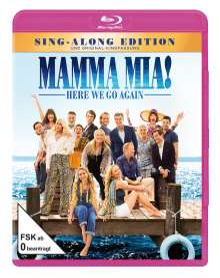 Mamma Mia! Here we go again (Blu-ray), Blu-ray Disc